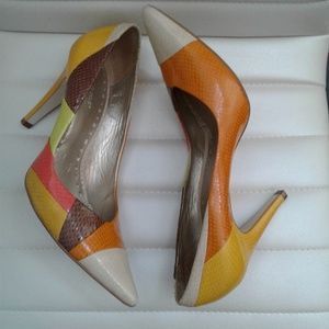 BCBG Color Crazy Heels